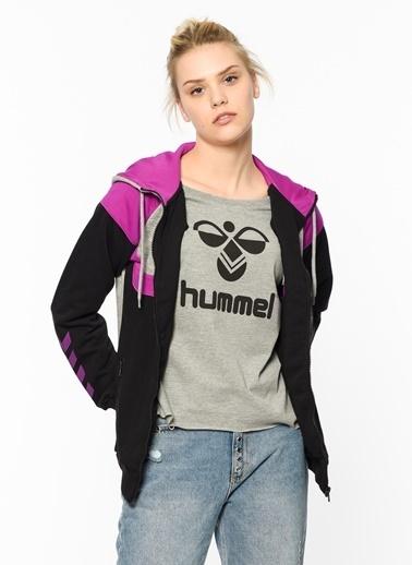 Fermuarlı Kapüşonlu Sweatshirt-Hummel